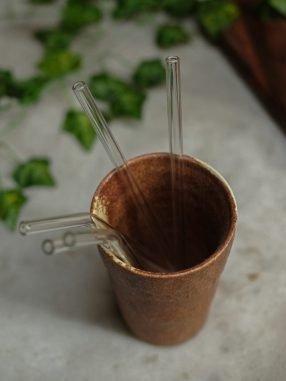 Glass Straw Single